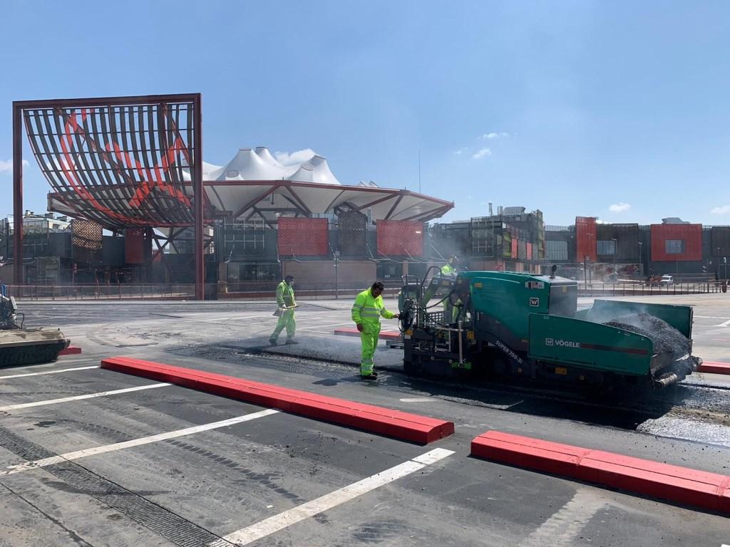 asfaltado de parking
